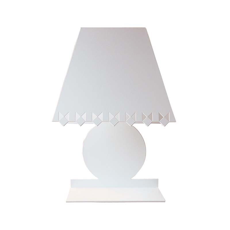 Cat Lamp - White Metal Lampshade