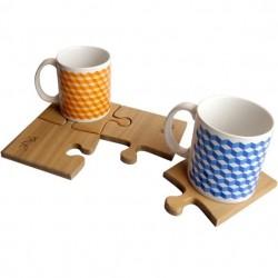 Puzzle Mat + Pantone Cup Set