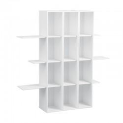 Triple Bookshelf